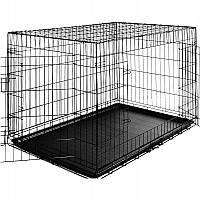 Металлическая клетка для животных 108x70x77