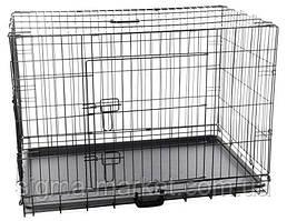 Металлическая клетка 91x61x68 см для животных