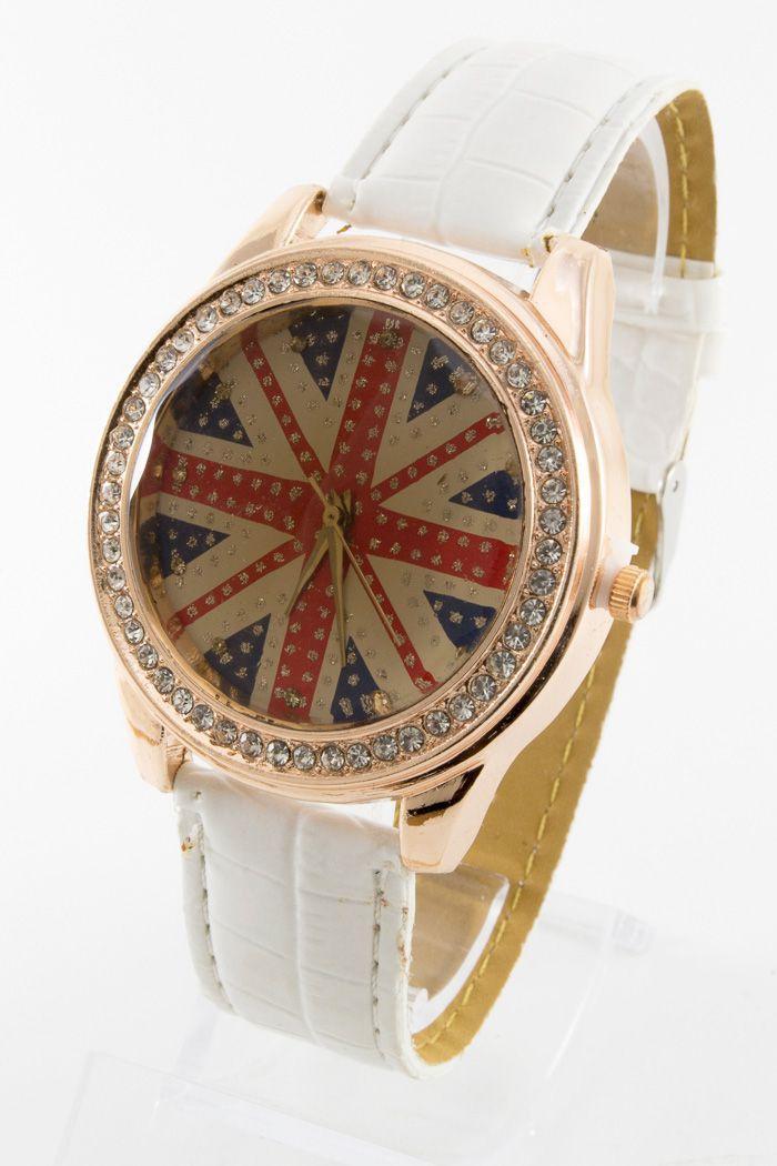 Женские наручные часы Britain Flag (код: 13822)