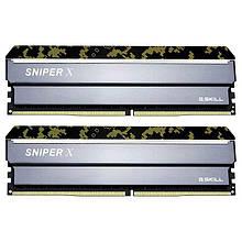 Память 8Gb x 2 16Gb Kit DDR4 3000 MHz G.Skill Sniper X F4-3000C16D-16GSXKB