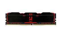 Память 8Gb DDR4 2666 MHz Goodram Iridium X Black IR-X2666D464L16S/8G