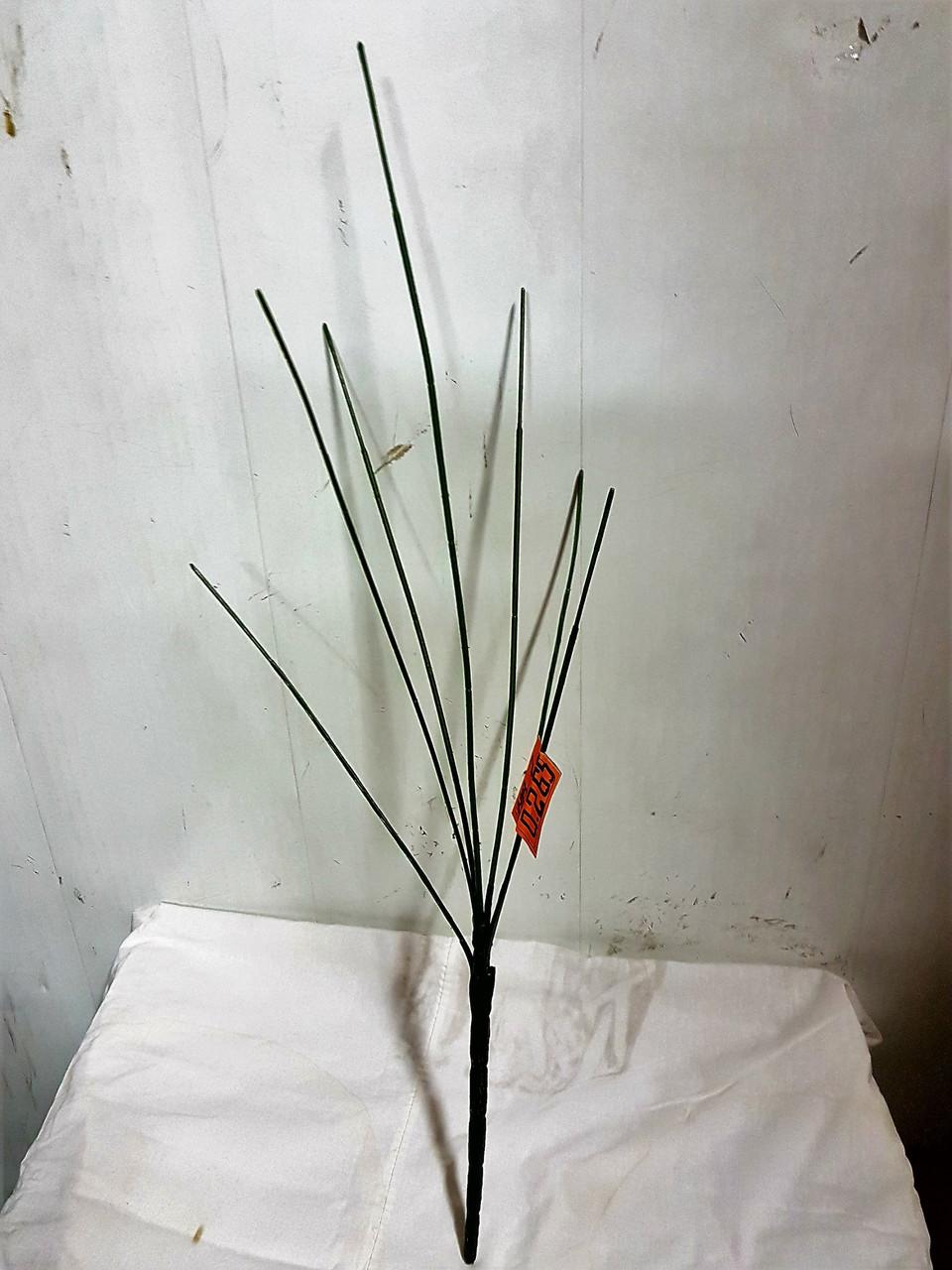 Нога букетная 7 голов высокая 68 см (50 шт./ уп.) Искусственные цветы