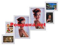Коллаж 6 фото  (дерево) 80*60 см ( рамка для фото мультирамка ) ФР0002