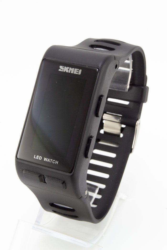 Наручные LED часы Skmei (код: 14276)
