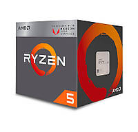 Процессор AMD AM4 Ryzen 5 2400G Box 4x3,6 GHz YD2400C5FBBOX