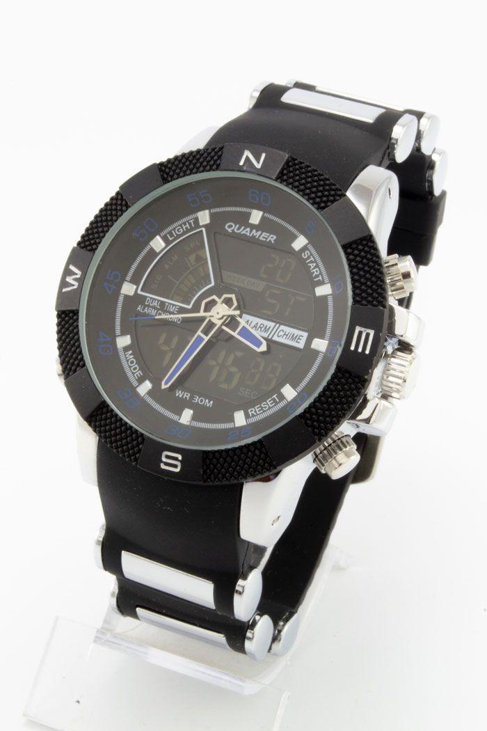 Часы наручные спортивные Quamer (код: 14754), фото 1