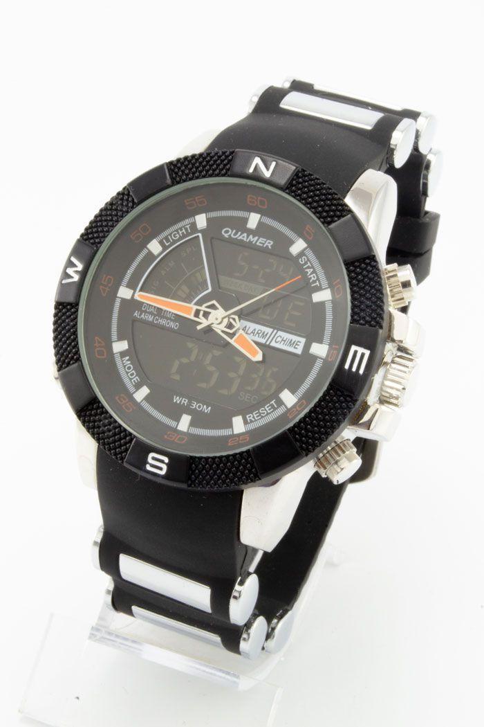 Спортивные наручные часы Quamer (код: 14755)
