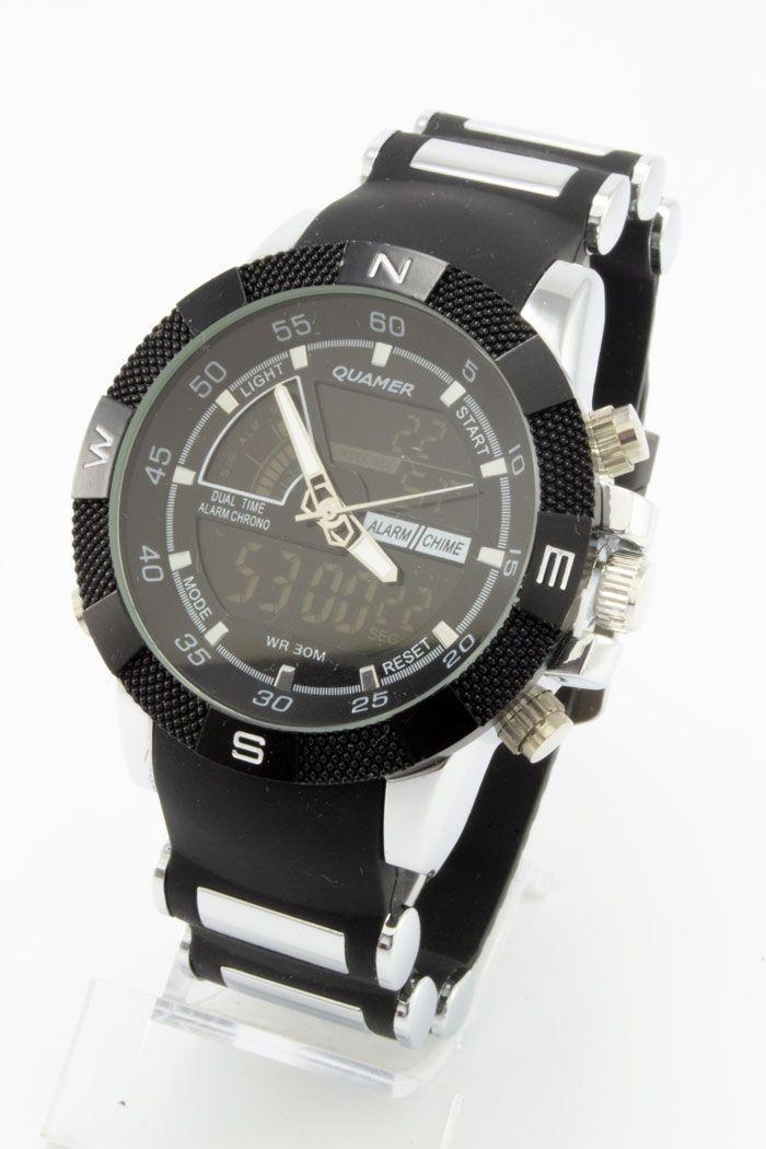 Спортивные наручные часы Quamer (код: 14756), фото 1