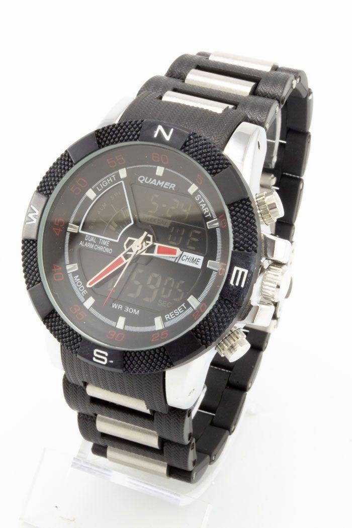 Спортивные наручные часы Quamer (код: 14757), фото 1