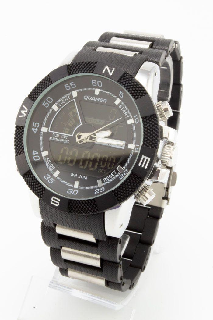 Спортивные наручные часы Quamer (код: 14758), фото 1