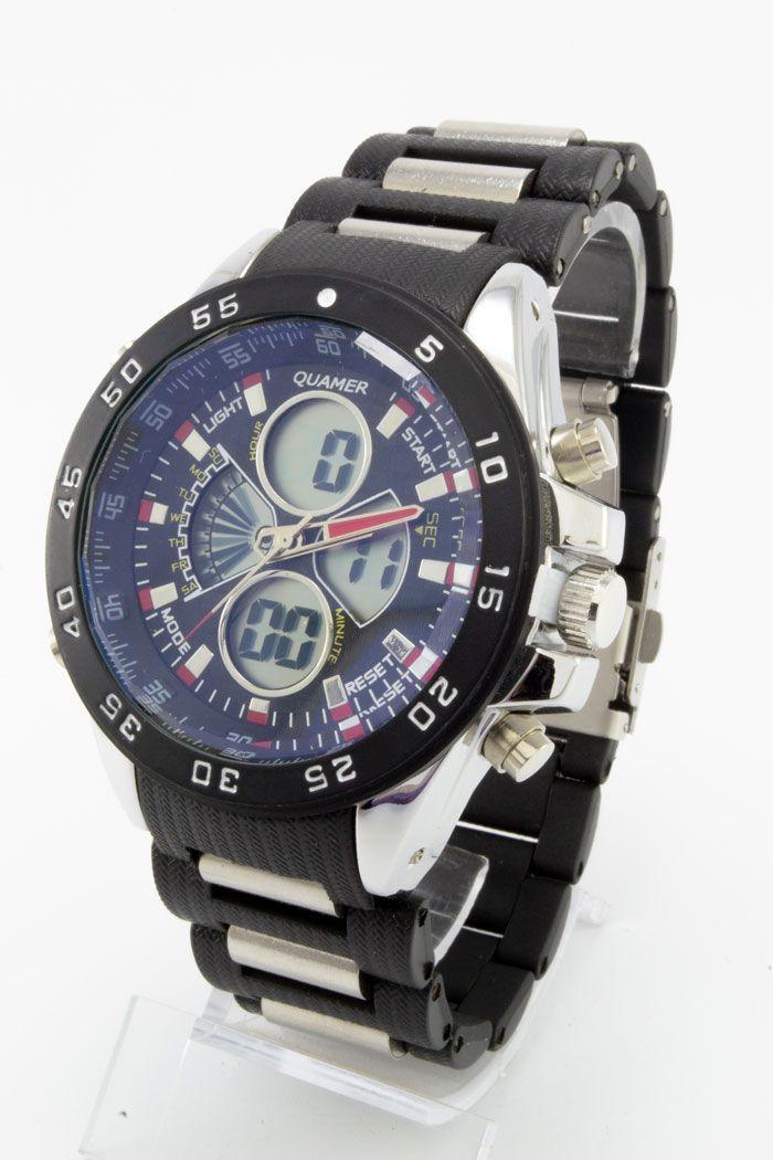 Спортивные наручные часы Quamer (код: 14761)
