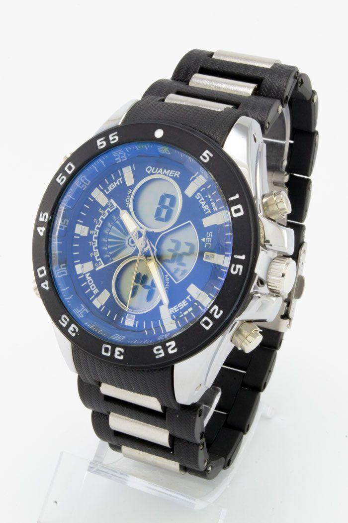 Спортивные наручные часы Quamer (код: 14762), фото 1