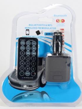 Трансмитер FM MOD. CM 027 + Bluetooth