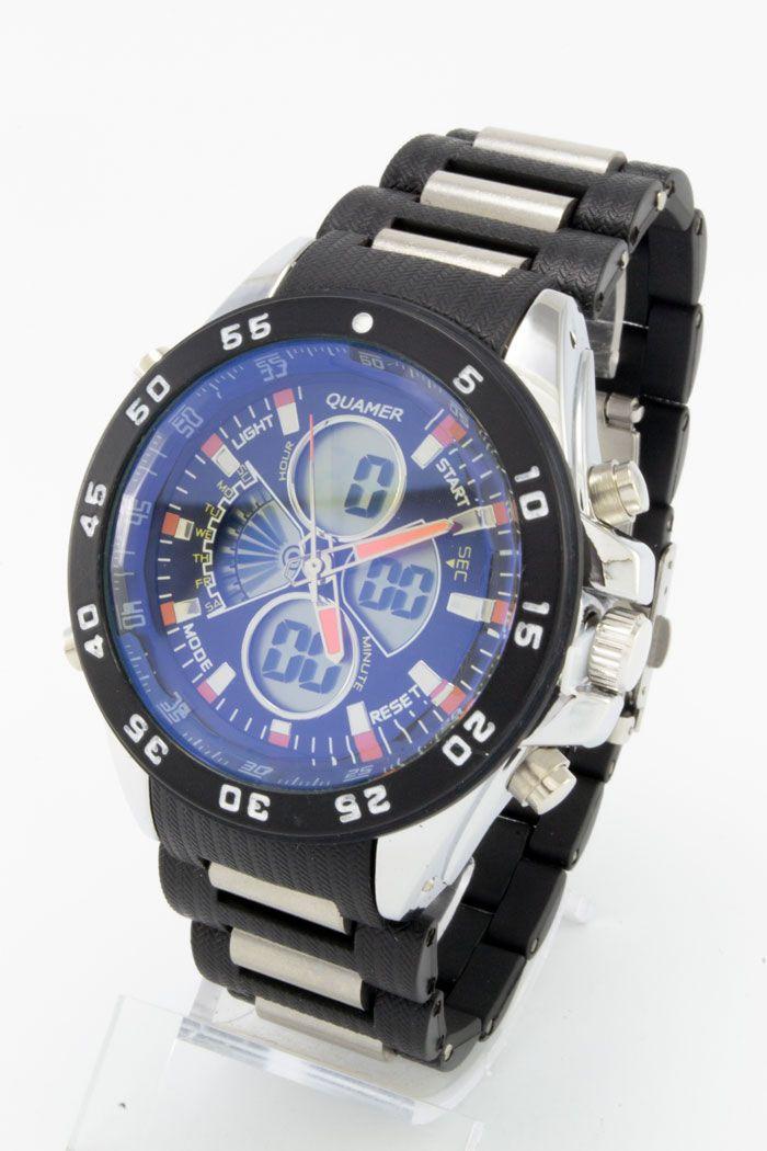 Спортивные наручные часы Quamer (код: 14763), фото 1