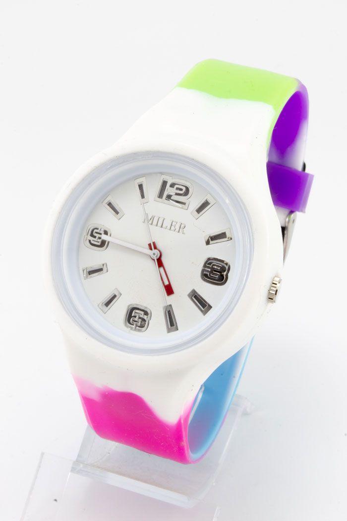 Женские наручные часы Miler с подсветкой (код: 14830)