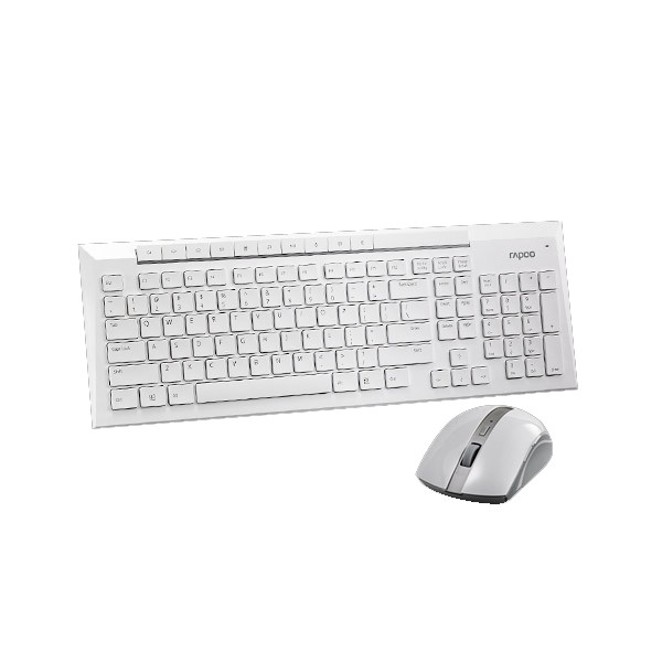 Комплект Rapoo 8200p Wireless White
