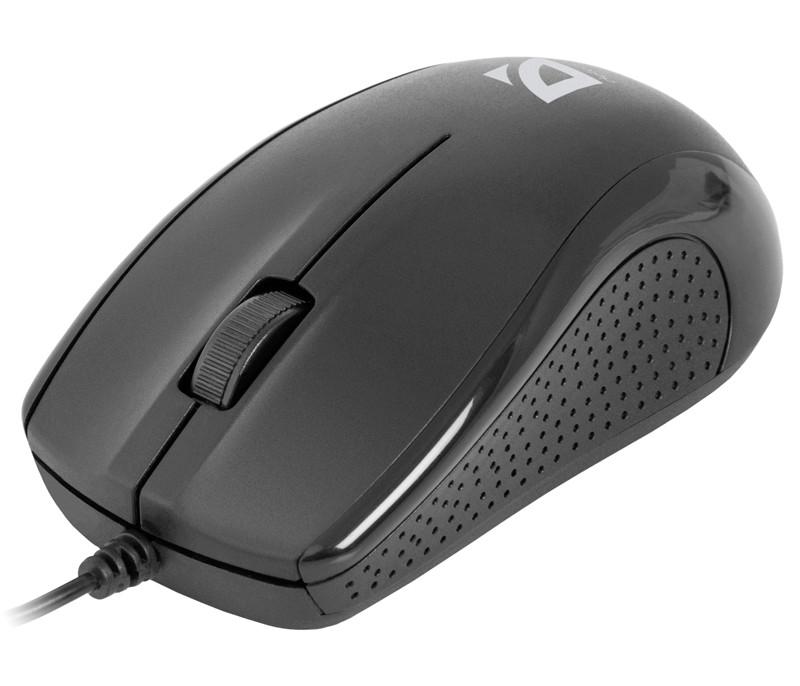Мышь Defender Optimum MB-160 USB Black