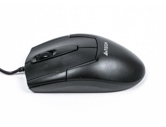 Мышь A4Tech N-301 Black V-TRACK USB 1000dpi