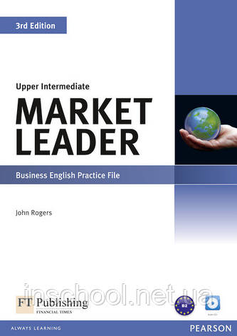 Market Leader 3rd Edition Upper Intermediate Practice File (with Audio CD) ISBN : 9781408237106, фото 2