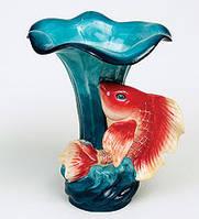 """Фарфоровая ваза """"Золотая рыбка"""" (Pavone)"""