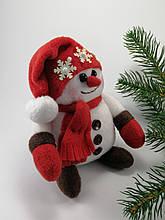 Сніговик м'яка іграшка ручна робота