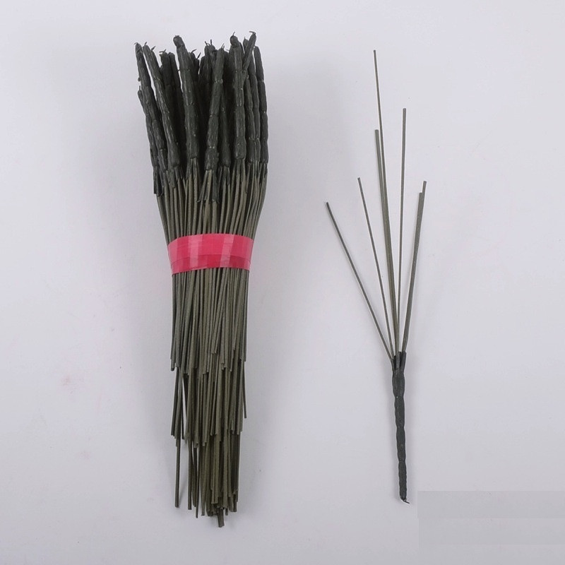 Ножка на 7 голов, 33 см (100 шт./ уп.) Искусственные цветы