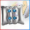 Надувной массажер подушка-  SILKLITE AIR Massager