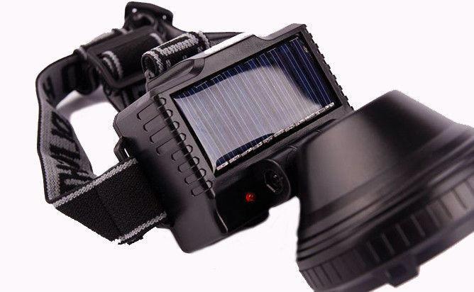Фонарик GD 215S + solar