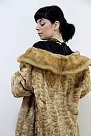 Красивая норковая шуба 54 размер на ОГ до 130 см в кредит под 0% на 6 месяцев шуба из натуральной норки, фото 1