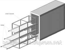 Холодильна камера для моргу КХХТН-4 З