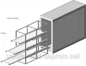 Холодильная камера для морга КХХТН-6 С