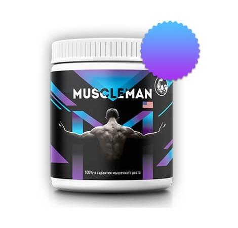 Средство Muscleman для мышечной массы
