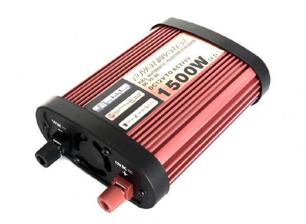 Преобразователь POWER INVERTER 1500-12W 1800 gm