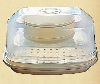 Пароварка для микроволновой печи 2в1 Dekok ST-501