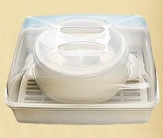 Пароварка для микроволновой печи 2в1 Dekok ST-502