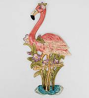 "Фарфоровое настенное панно ""Фламинго"" (Pavone) BS-187, фото 1"