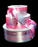 Тортик для денег Сердечки