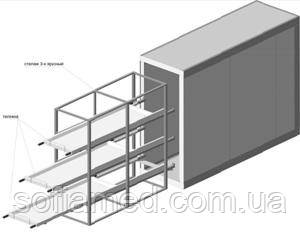 Холодильная камера для морга КХХТC-12 С
