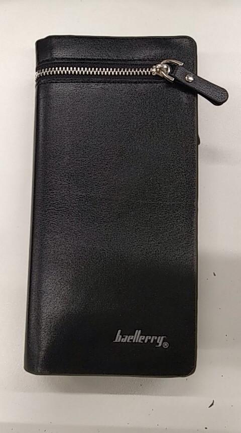 Мужской кошелек, портмоне Baellerry S618 Black N3571