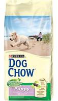 Dog Chow Puppy для цуценят з ягням (2,5 кг)