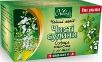 ЧИСТІ СУДИНИ-НАТУР - Софора з мелісою - ф-чай для очищення і зміцнення судин (Натураліс)