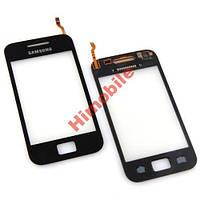 Тачскрин сенсор Samsung S5830i Galaxy Ace черный с проклейкой