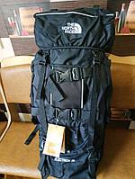 Рюкзак походный туристический The North Face 80 л. черный