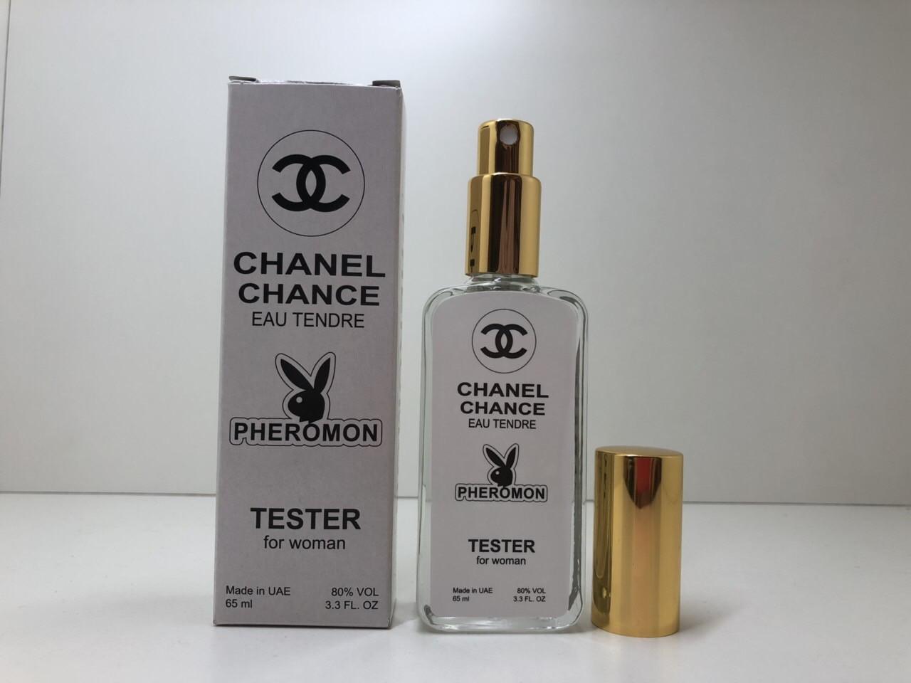 Тестер с феромонами женский Chanel Chance Eau Tendre (Шанель Шанс Тендер) 65 мл