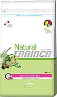Trainer Natural Super Premium Junior Maxi, рацион для юниоров крупных и гигантских пород от 9 месяцев до 2 лет, 12,5 кг.