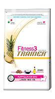 Trainer Fitness3 Super Premium Puppy&Junior Mini With Duck-Rice-Oil, с уткой, рисом и растительным маслом, 7,5 кг.