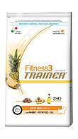 Trainer Fitness3 Super Premium Adult Mini With Rabbit-Potatoes-Oil, с кролятиной, картошкой и растительным маслом, 7,5 кг.