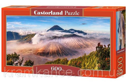 "Пазлы CASTORLAND 600 ""Вулкан Индонезии"" ПЗ-060214"