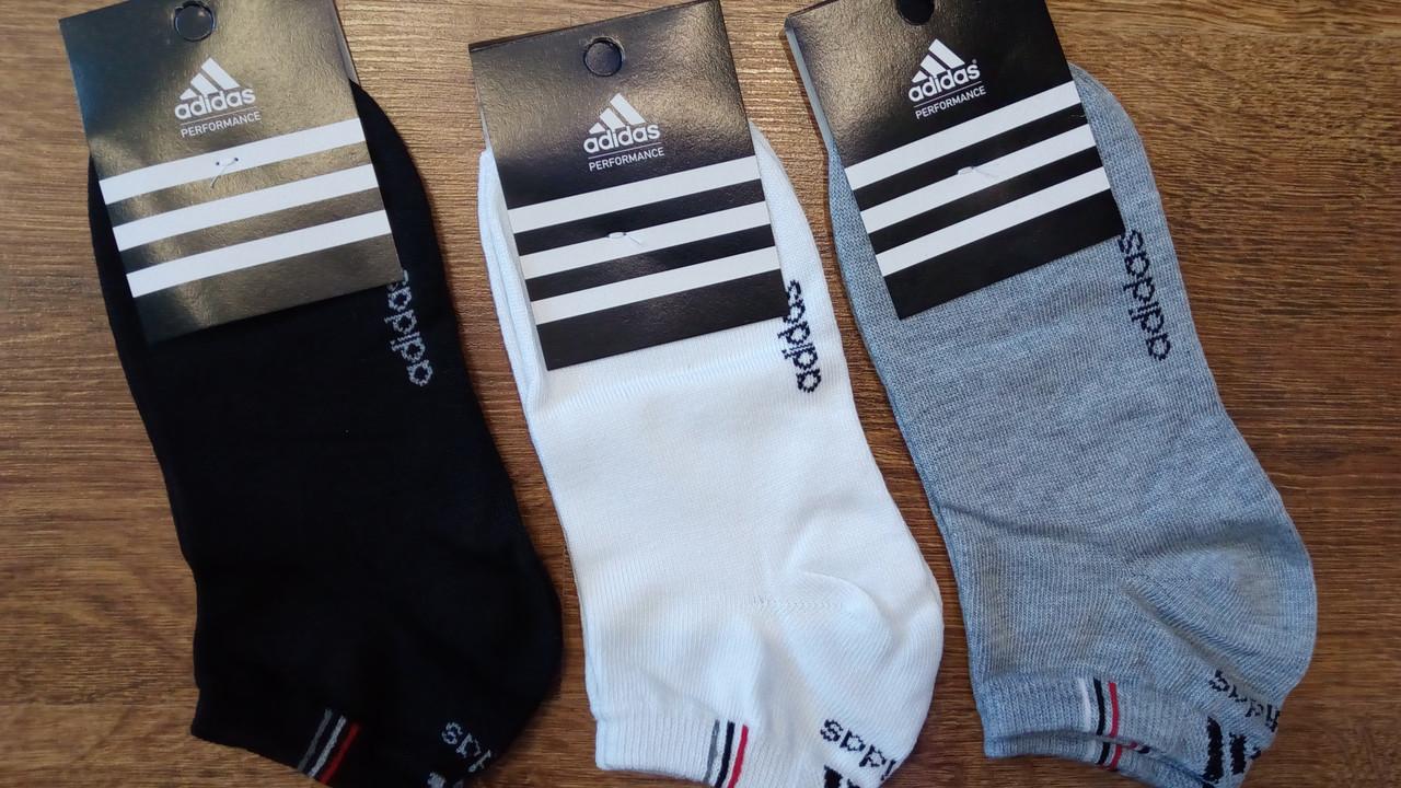 """Женские короткие носки в стиле""""Adidas"""",турецкий оригинал"""
