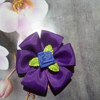 Резинка для волос,фиолетовая